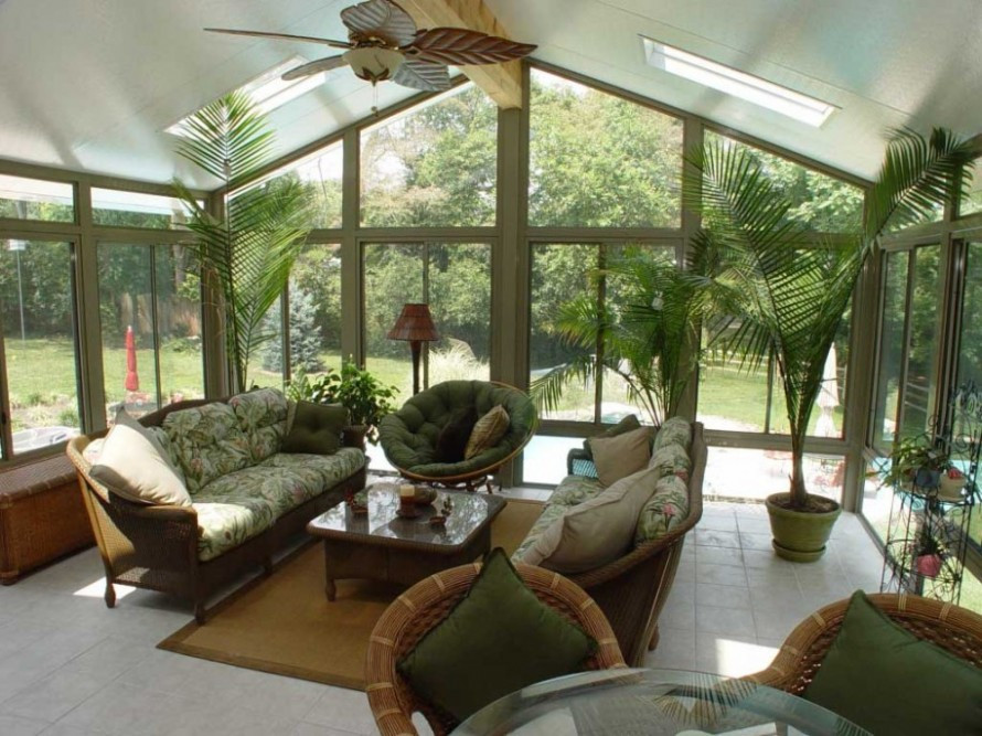 20 Beautiful Sunroom Furniture Windows Concepts Enjoy Your Time