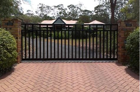 60 Best Driveway Gates Ideas, Different Types With Many Benefits